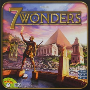 7 Wonders - fun board game for college students about civilization building