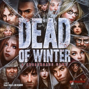Dead of Winter - zombie themed cooperative game with a traitor