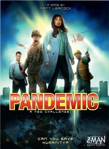 Pandemic - My second favorite board game for college students