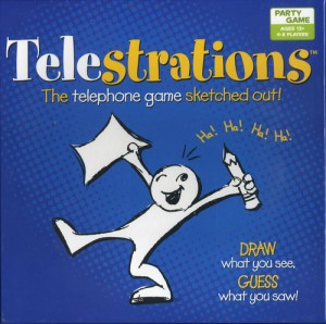 Telestrations - Hilarious board game