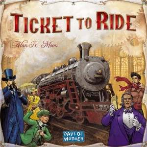 Ticket to Ride - great board game for college